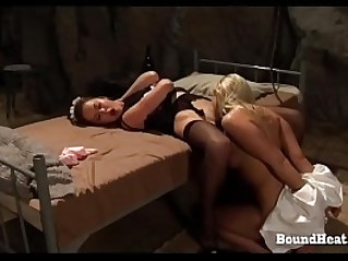 On Consignment Very Skilled Pussy Licking In Bondage