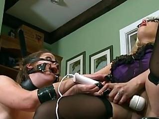 BDSM Piggy Play on camera With Goddess Starla