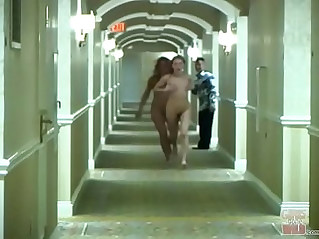 Girls gone wild young lesbians sara and jamie running amok in a hotel