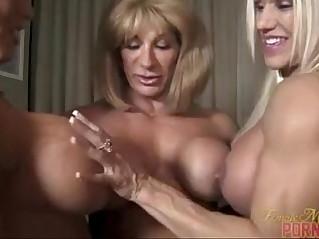 muscle lesbians