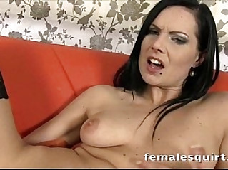 Gorgeous blonde babe Monica squirt gushing