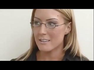 Job interview turns to lesbian sex