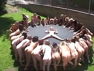 Lesbian piss squirt party
