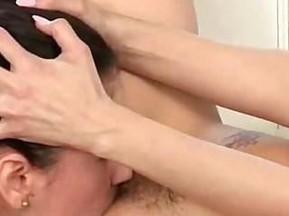 Lez Sexy Girls Vicki Chase Vanessa Veracruz Lick And Kiss Their Holes vid 30